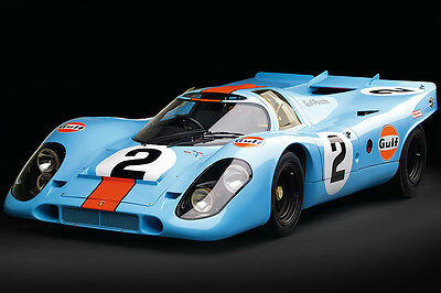 1969 Porsche 917 K Vintage Racing Poster Metal Print Canvas Art Photography  NEW