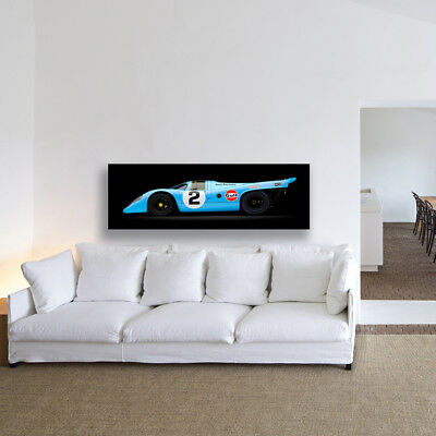 Porsche 917 K 1969 Vintage Porsche Racing Car  (Sv) Large Photography / Poster