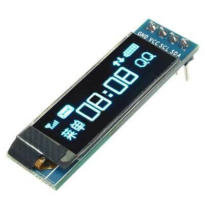 "IIC I2C 0.91"" 128x32 White OLED LCD Display Module DC 3.3V 5V For Arduino"