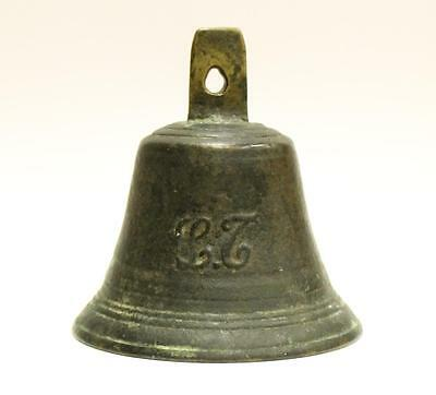 Victorian Bronze Servants Bronze Bell #6 authentic & original patina