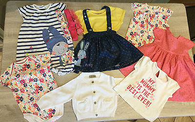 ❤ Baby Girls Summer Clothes Bundle - Next/Mothercare - 3-6 Months ❤