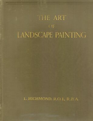 The Art of Landscape Painting 1935 1st Edition HC BOOK