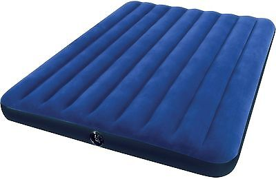 NEW! Intex QUEEN 8.75' Classic Downy Inflatable AIRBED Mattress Camping Outdoor