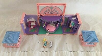 1999 Polly Pocket Dream Builders MASTER BEDROOM 100% Complete