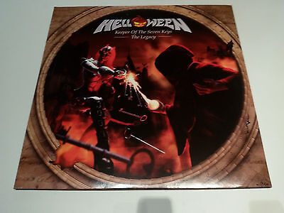 "Helloween ‎– Keeper Of The Seven Keys - The Legacy 2X12""LP-WARLOCK-ACCEPT-DIO"
