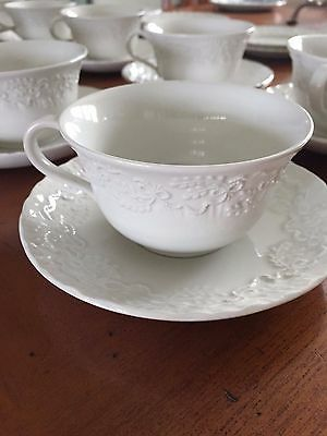 Qty 10 Ralph Lauren Claire Bread Plate, Cup & Saucer Wedgwood (Total 30 Pieces)