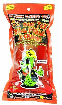 ALAMO CANDY CO. BIG TEX DILL PICKLE IN CHAMOY 12ct