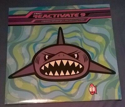 Reactivate 9 Double LP razor sharp beats + bytes 1994 REACTLP44 Near Mint