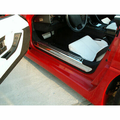 ACC Door Sill Trim Kit fits 88-96 Chevy Corvette C4-Laser Cut Stainless/Polished