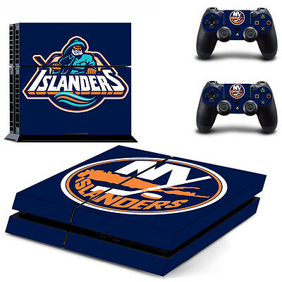 Video Games & Consoles Ps4 Slim Console Skin Decal New Yorkislanders Nhl Vinyl Sticker Wrap Controllers