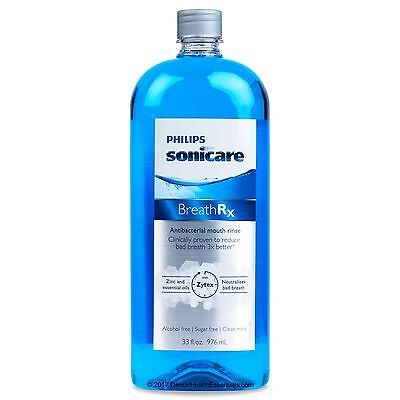 BreathRx Anti-Bacterial Mouthwash Mouth Rinse (33 fl. oz/976 m) | Free Shipping