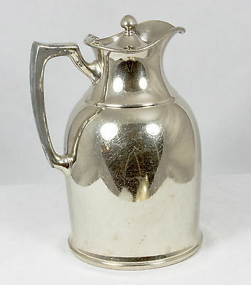 """Antique Landers Frary & Clark Universal Coffee Thermos Pot 5"""" 1917 New Britain"""