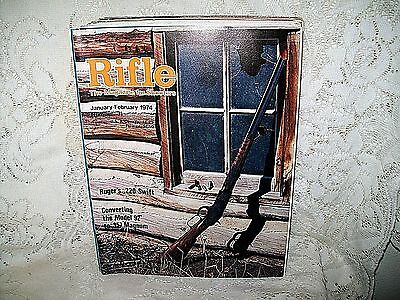 Rifle 1/2 1974~Ruger 220 Swift~Winchester 65~Ranger Arms~Marlin 94~Ithaca Lsa-55