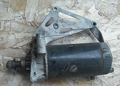 Vintage Johnson Super Sea Horse  outboard electric starter with bracket, 40hp