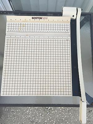 Boston 15 x 15 Paper Cutter Trimmer 2615 Guillotine Scrapbooking Wood Heavy Duty