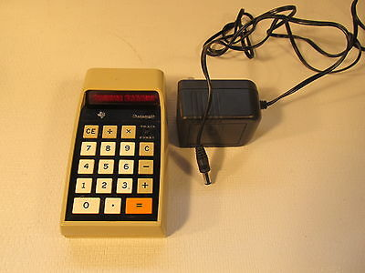 DATAMATH TI-2500, 1972 calculator (ref 774)