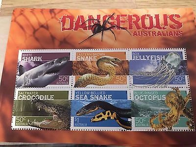 Australia Stamps 2006 Dangerous Australians MUH Stamps Set