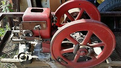 3 hp NELSON BROTHERS GAS ENGINE HITT &MISS MONARCH, FAIRBANKS, MAYTAG, STOVER