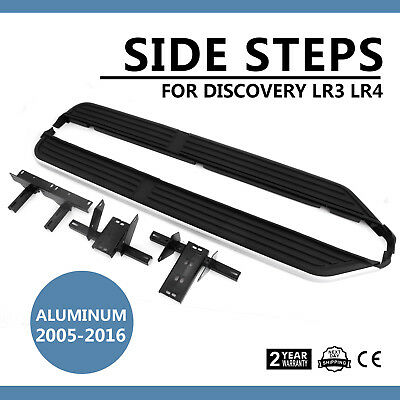 Fit Land Rover Discovery 3/4 Running Boards Side Steps 2004>0N Oem Style New