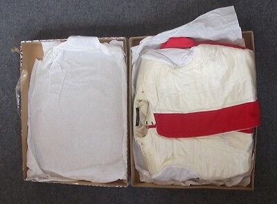 Boxed and unissued Irish Guards Tunic by Hobson & Sons