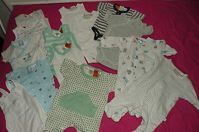 Newborn Baby Boy 0000 Clothes Bundle 14 items  (Pack 1)
