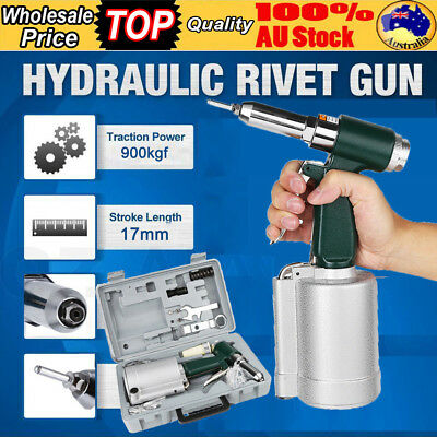 Nutsert / Rivnut Riveter Gun Air Hydraulic Pop Rivet Nut Gun Pneumatic Tool Set