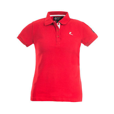 NEW! Horze Trina Polo Shirt Red Sizes 8 - 16