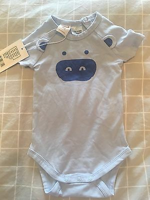 Seed Baby - Short Sleeve Jumpsuit - 0-3 Months