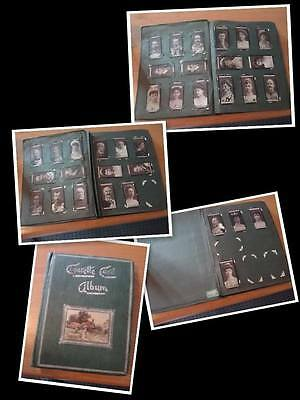 Hd&ho Wills Cigarette- Tobacco   Card Album With 0Ver 400 Cards