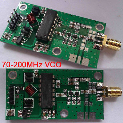 70-200MHz VCO RF Signal Source Voltage Controlled Oscillator Signal Generator