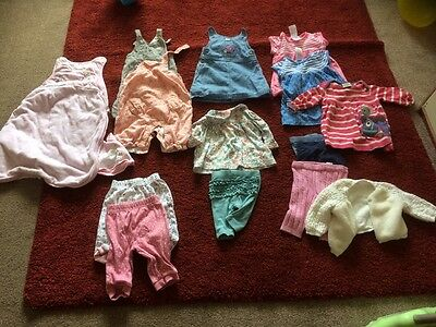 baby girls bundle 0 to 3 months