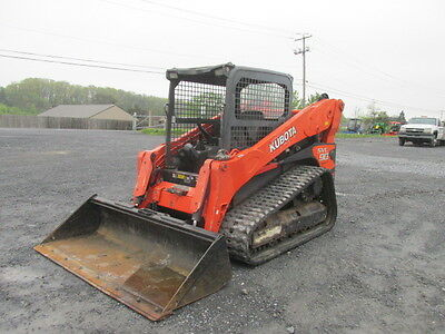 2012 Kubota SVL90 Tracked Skid Steer Loader!