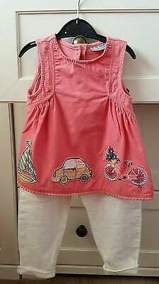 bundle of girls clothes 12-18 months (13 items)