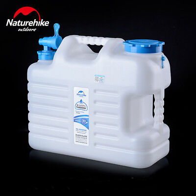 12 18 24 Litre Water Storage Container Bottle Carrier Jerry Can Bucket with Tap