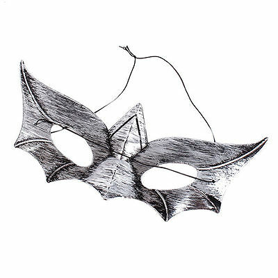 Hot Women Mens Masquerade Party Halloween Bat Face Mask Costume Accessory Prop