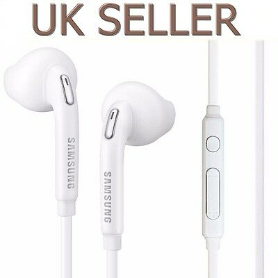 New Handfree Earphone Headphone For Samsung Galaxy S6 S7 Edge Note4 UK SELLER