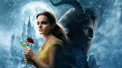 "9058 Hot Movie TV Shows - Beauty and the Beast 2017 40 24""x14"" Poster"