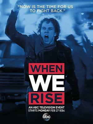 "10445 Hot Movie TV Shows - When We Rise 2017 2 14""x18"" Poster"