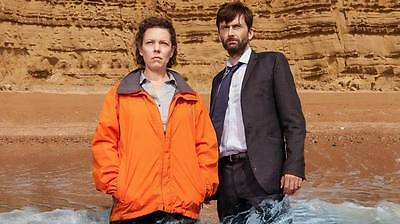 """9243 Hot Movie TV Shows - Broadchurch 1 2 3 72 24""""x14"""" Poster"""