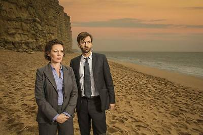 """9199 Hot Movie TV Shows - Broadchurch 1 2 3 32 21""""x14"""" Poster"""
