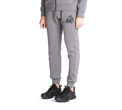 Mens Kings Will Dream Zone Grey Poly Pants RRP £34.99