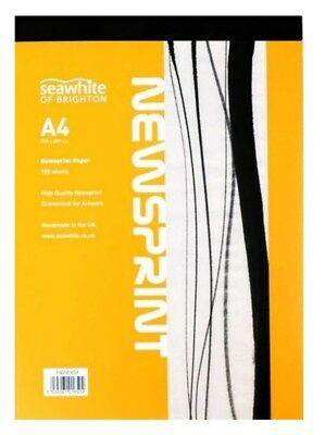 Seawhite of Brighton Newsprint Paper Drawing & Sketching Art Pad - A4