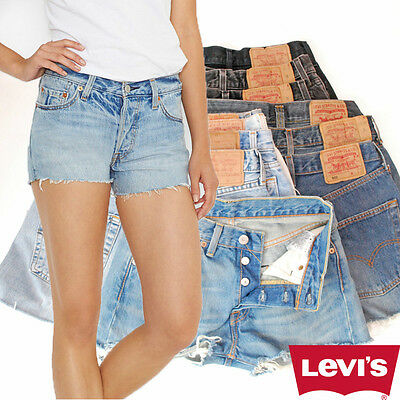 LEVIS DENIM SHORTS GRADE B - Vintage High Waisted 6 8 10 12 14 16
