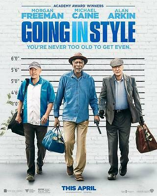 """9620 Hot Movie TV Shows - Going in Style 2017 14""""x17"""" Poster"""