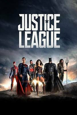 "9755 Hot Movie TV Shows - Justice League 2017 1 14""x20"" Poster"