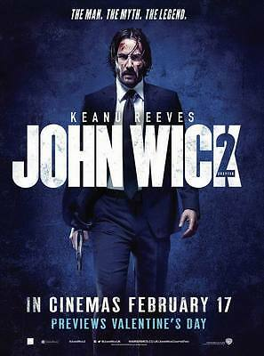 "9735 Hot Movie TV Shows - John Wick 30 14""x18"" Poster"