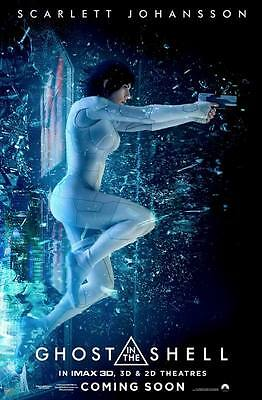 "9574 Hot Movie TV Shows - Ghost in the Shell 2017 1 14""x21"" Poster"