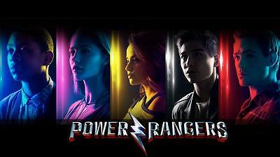 """9997 Hot Movie TV Shows - Power Rangers 2017 5 24""""x14"""" Poster"""