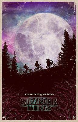 "10283 Hot Movie TV Shows - Stranger Things 6 14""x21"" Poster"