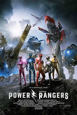 "9994 Hot Movie TV Shows - Power Rangers 2017 1 14""x20"" Poster"